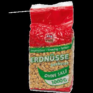 XOX Erdnüsse ohne Salz 1000g