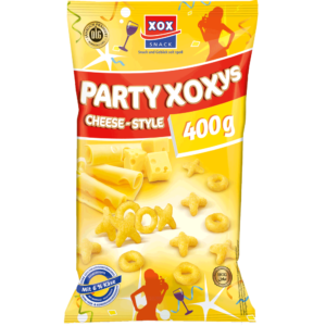 XOX Party-XOXys Cheese-Style 400g