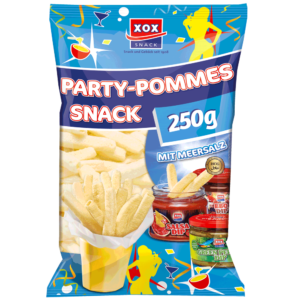 XOX Party-Pommes Salz 250g