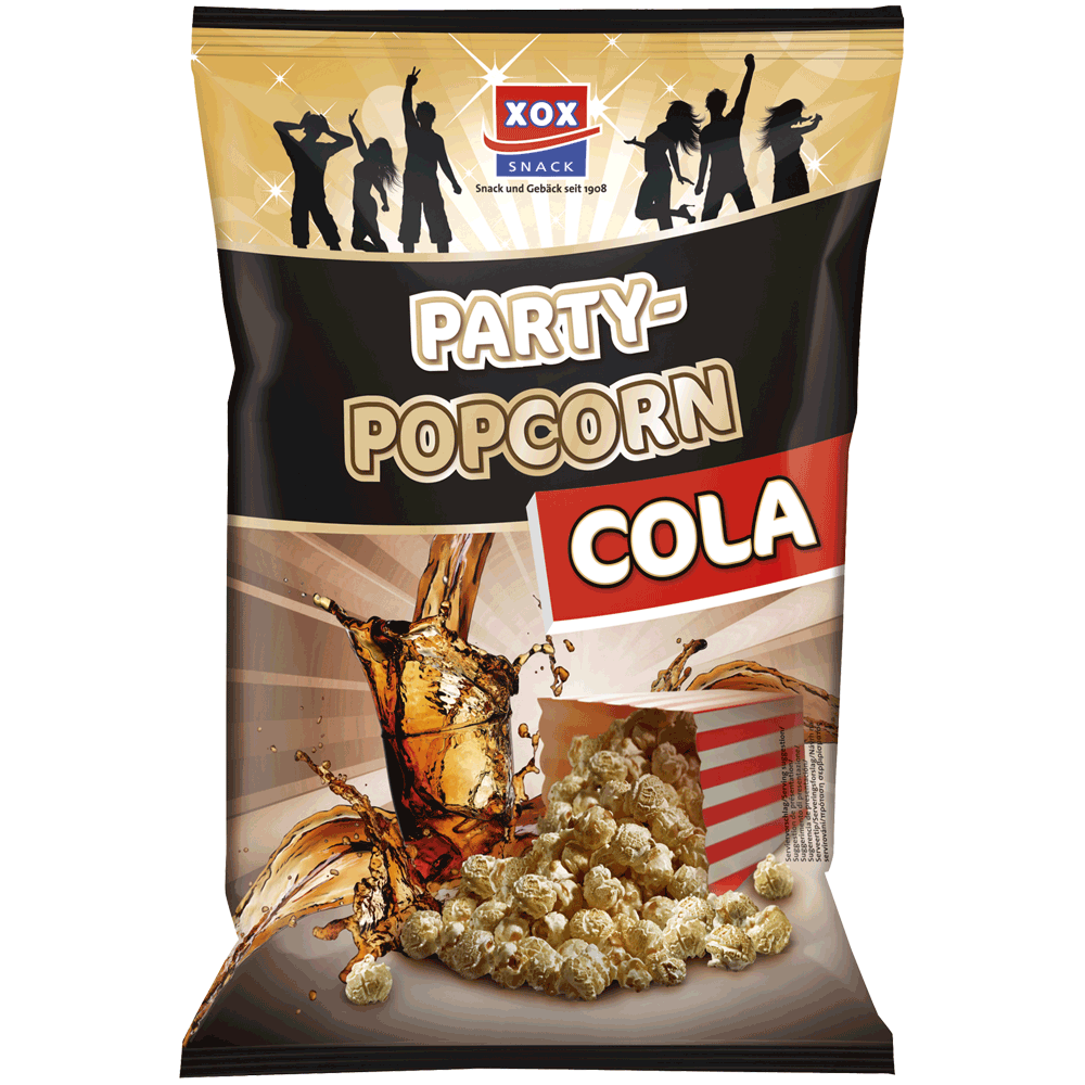 XOX Party Popcorn Cola