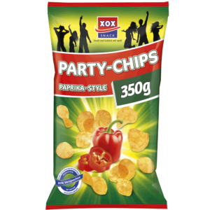 XOX Party-Chips Paprika-Style 350g