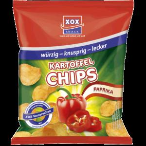 XOX Kartoffelchips Paprika 30g
