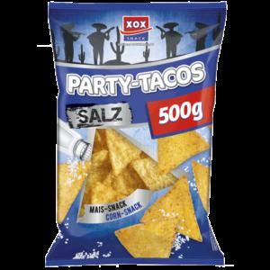 XOX Party Tacos Salz 500g