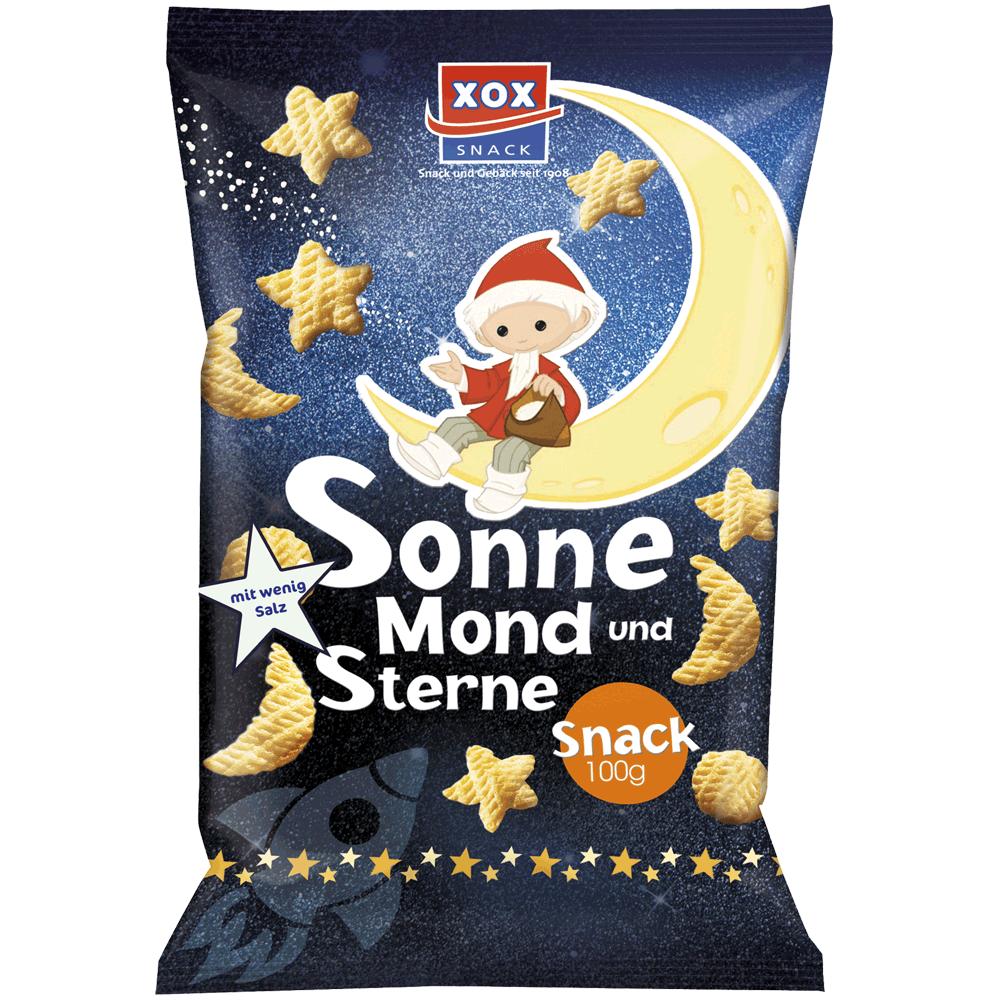 XOX Sandmännchen Sonne Mond und Sterne