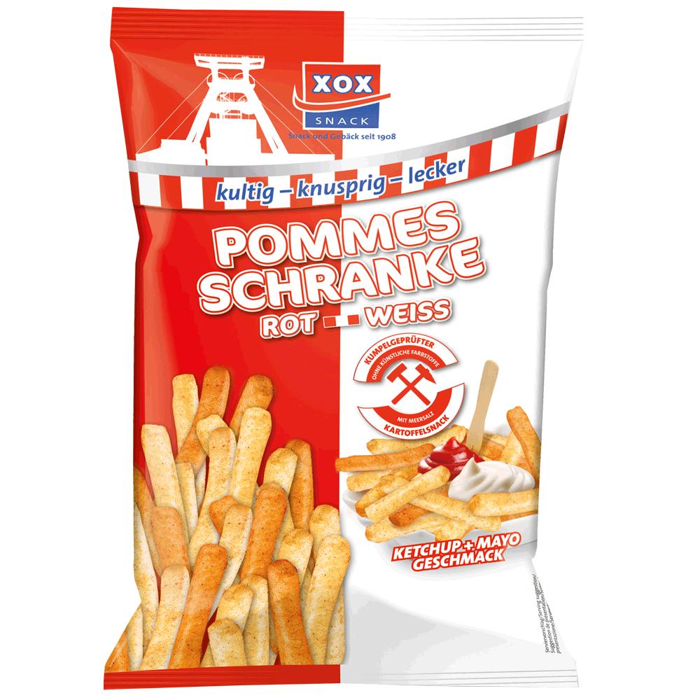 XOX Pommes Schranke