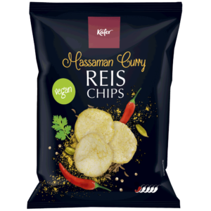 Käfer Reischips Massaman Curry 60g
