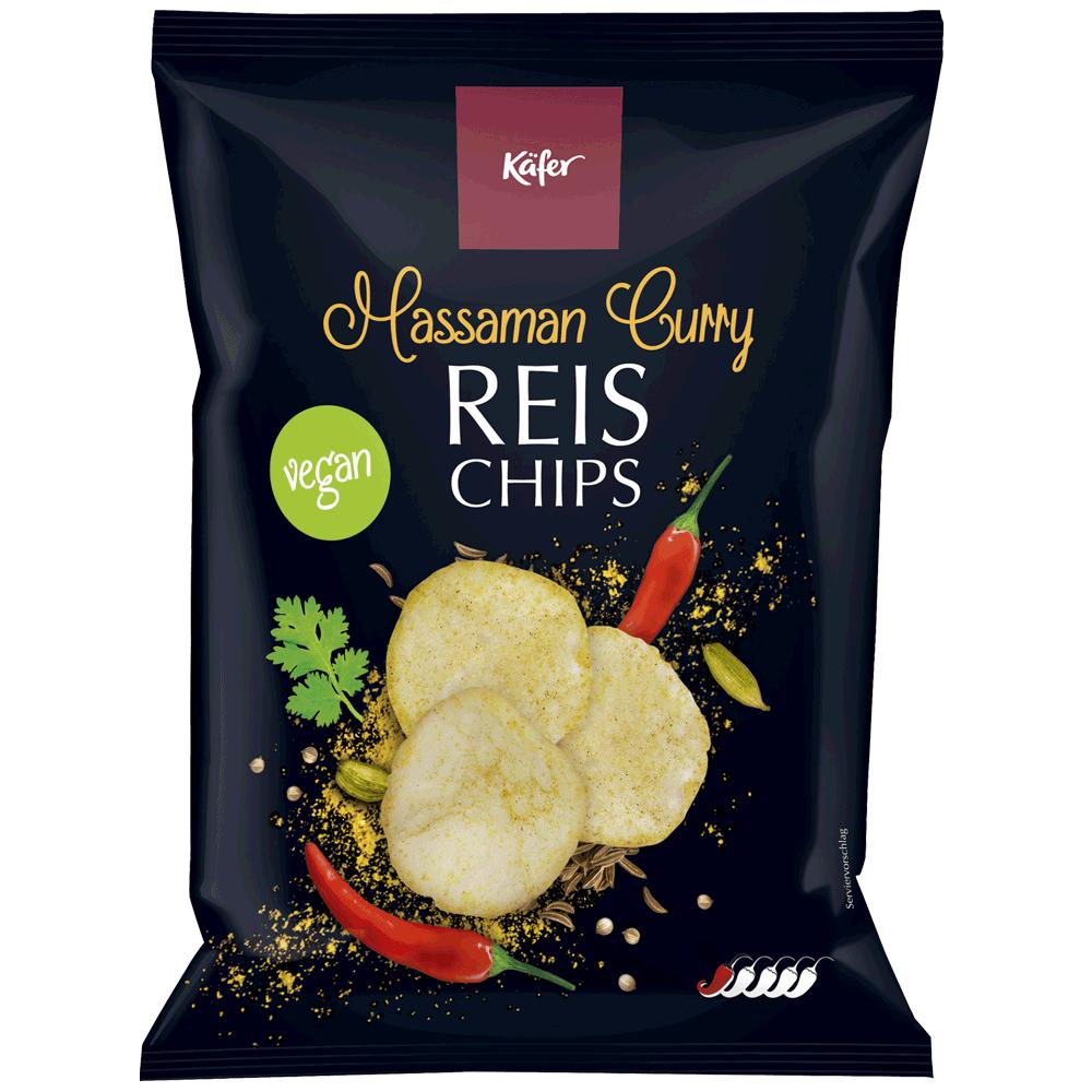 Käfer Reischips Massaman Curry