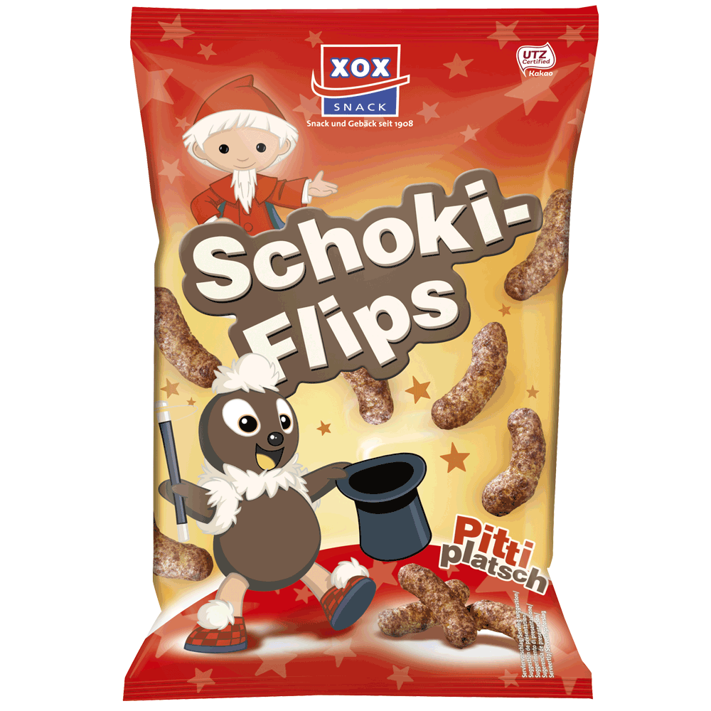 XOX Sandmännchen Schoki-Flips