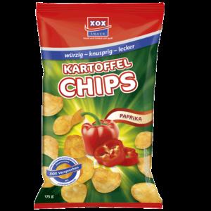 XOX Kartoffelchips Paprika 175g