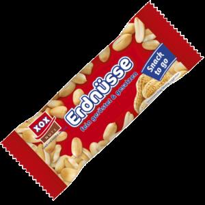 XOX Erdnüsse gesalzen 50g