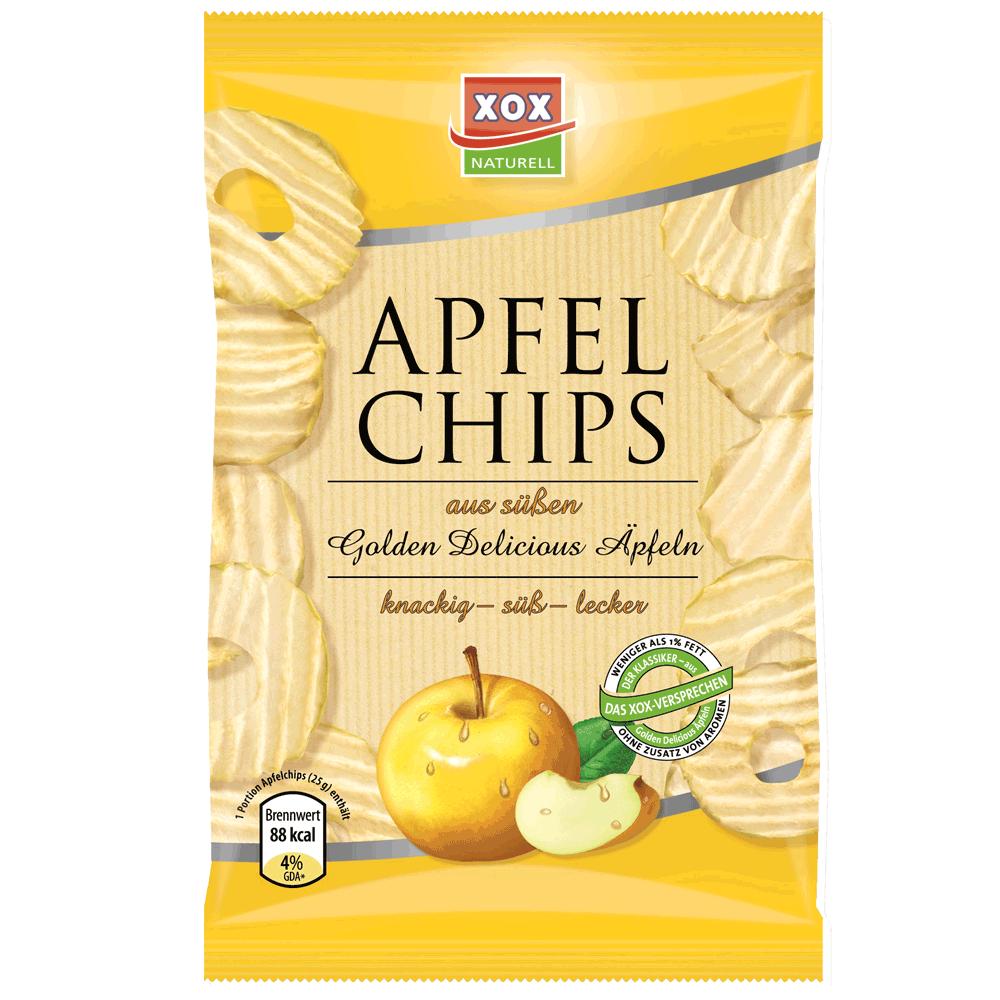 XOX Apfelchips Golden Delicious