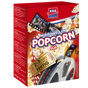XOX Mikrowellen Popcorn süß 300g