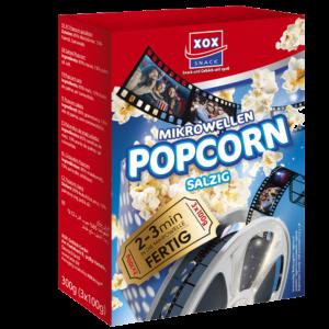 XOX Mikrowellen Popcorn salzig 300g