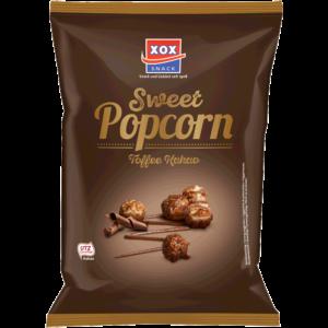 XOX Gourmet Popcorn Toffee Kakao 125g