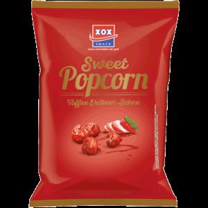 XOX Gourmet Popcorn Toffee Erdbeer-Sahne 125g