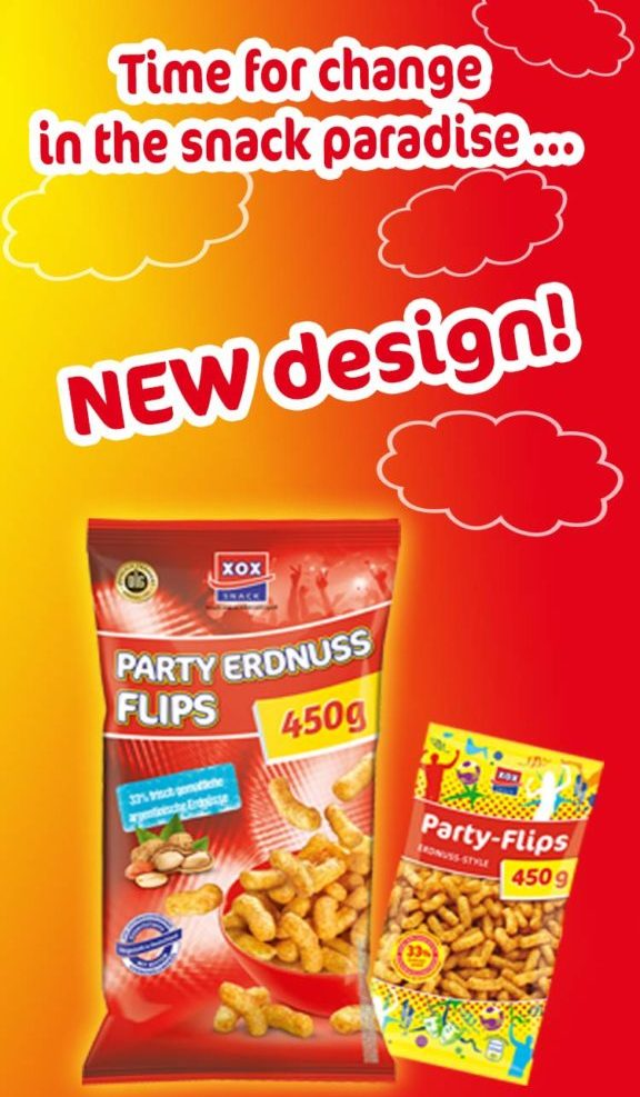 Party Flips im neuen Design