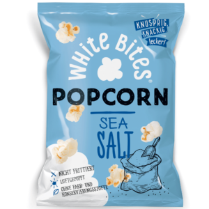 White Bites Popcorn Sea Salt 80g