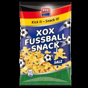 XOX Fußballsnack Salz 125g