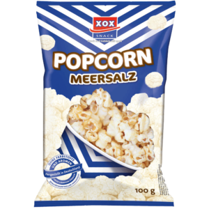 XOX Popcorn Meersalz 100g