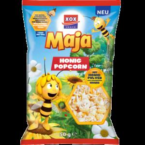 XOX Biene Maja Popcorn Honig 50g