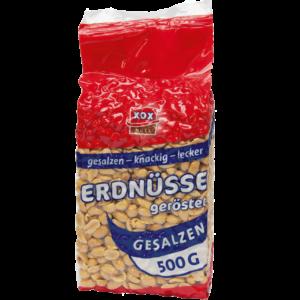 XOX Erdnüsse gesalzen 500g