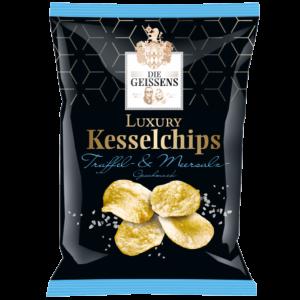 Geissens Luxury Kesselchips Trüffel- & Meersalz Geschmack 125g