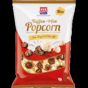 XOX Toffee-Mix Popcorn Nuss-Nougat & Kokos-Style 125g