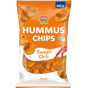 XOX Hummus Sweet Chili 90g