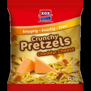 XOX Crunchy Pretzels Cheddar Cheese 125g