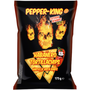 Pepperking Habañero Tortillachips 175g