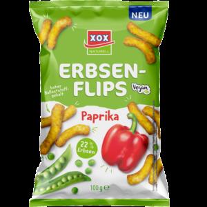 XOX Erbsenflips Paprika 100g