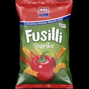 XOX Fusilli Paprika 125g